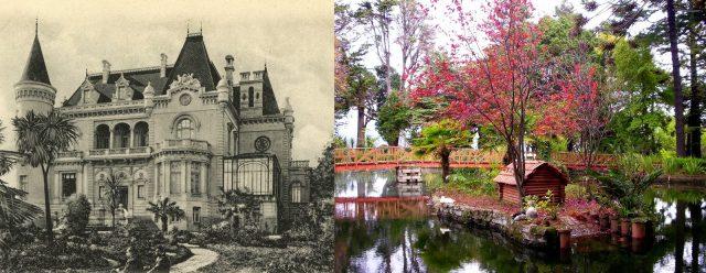 palacio y parque de lota