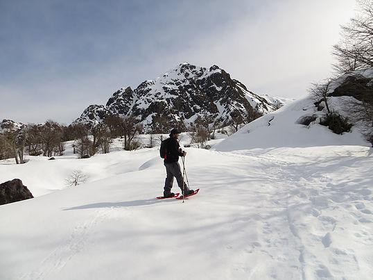 Caminatas-en-Raquetas-de-Nieve-valle-las-trancas