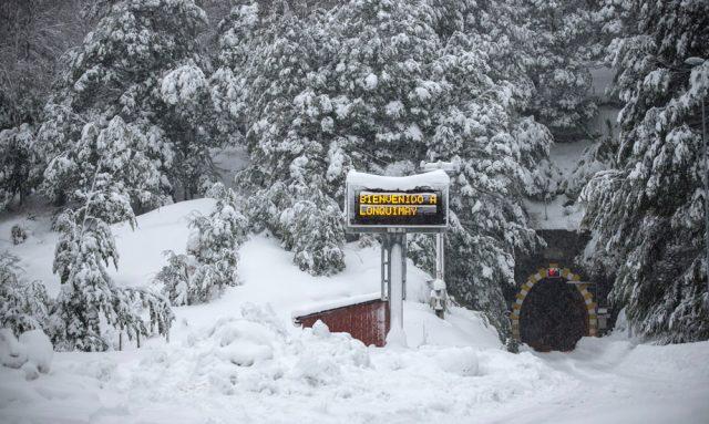 Nevazon en la zona sur del país deja daminificafos